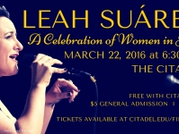 Leah Suarez: A Celebration of  Women in Jazz