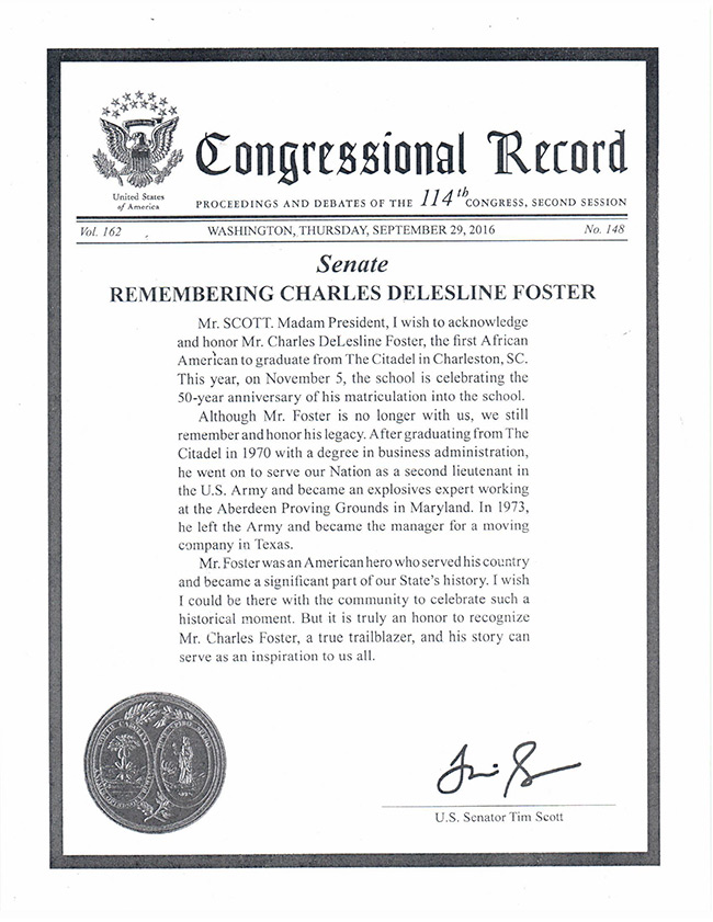 Congressional-Record-re_Charles-Foster-Class-of-70