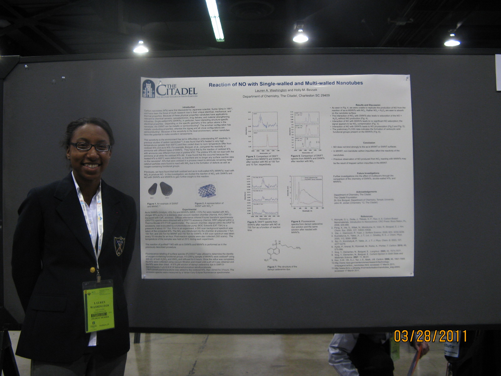 Washington presents at ACS Meeting