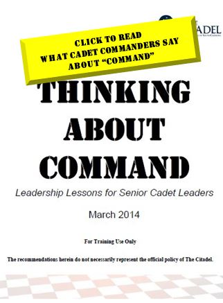 thinking about command cover page-march 2014
