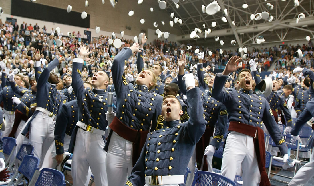 The Citadel Commencement Ceremony