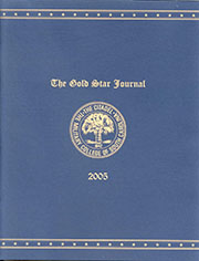 The Gold Star Journal, 2005 Edition