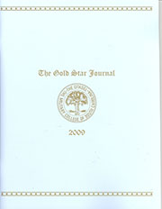 The Gold Star Journal, 2009 Edition