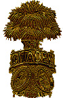 photograph of Citadel shako pin