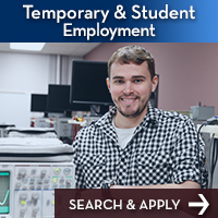 student employment button