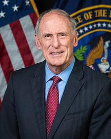 dan coats official dni portrait