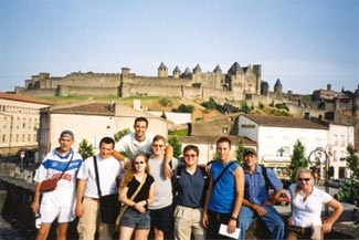 Group Picture at Carcassonne