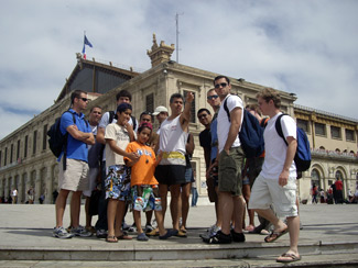 French Study Abroad Group