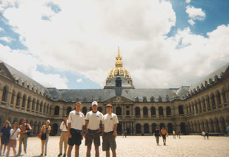 Group Picture at Les Invalides