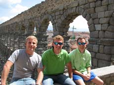 Cadets in Segovia, Spain