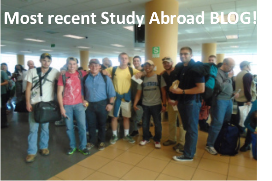 study abroad blog link