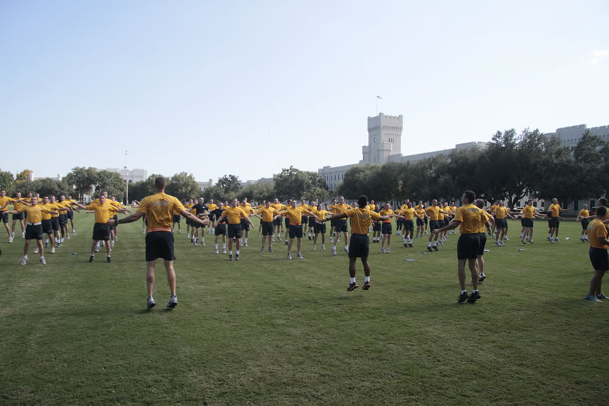 Navy ROTC at The Citadel