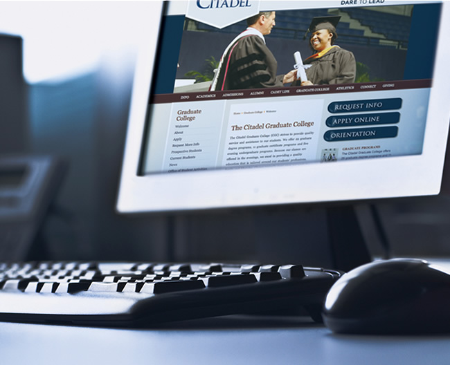 The Citadel Graduate College Website