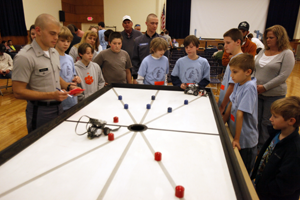 Lowcountry school children compete in the eWeek Robotics Competition.