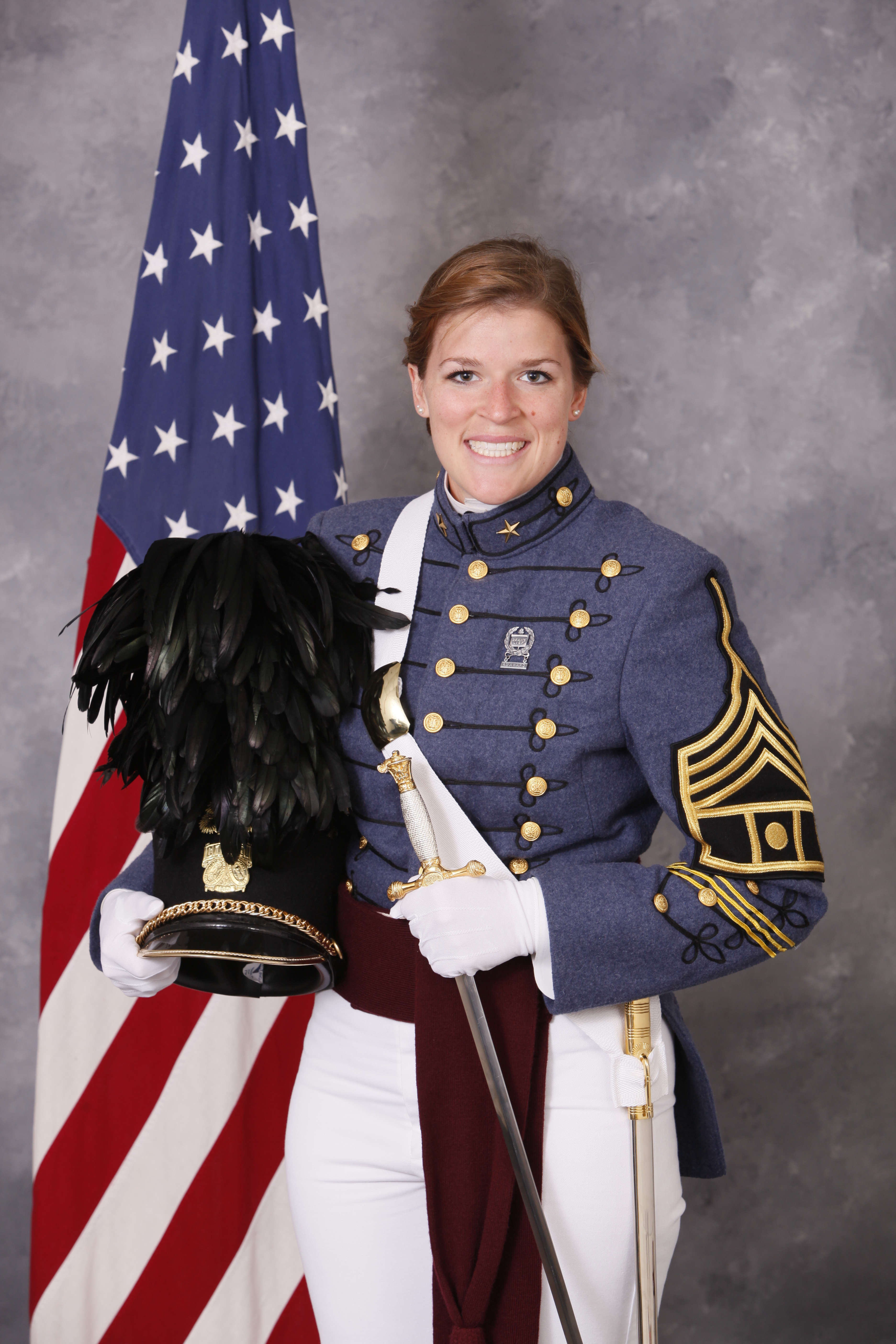 Cadet Erin Bucheri of Indianapolis