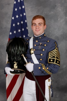 Cadet Matthew Bernard of Orange Park, Fla.