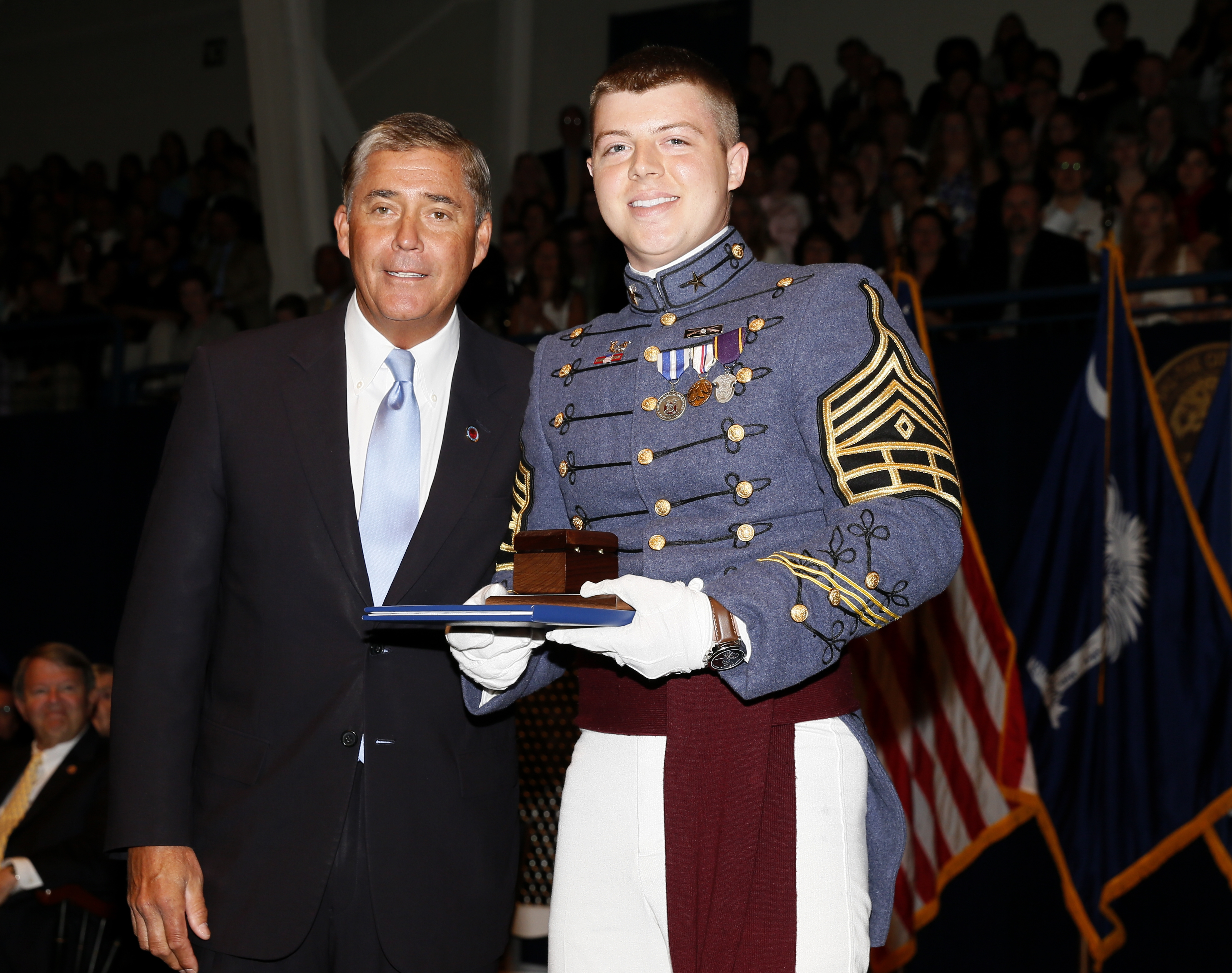 Spelling Of Honor: S.C. Corps Of Cadets' Most Prestigious Honors For Class Of