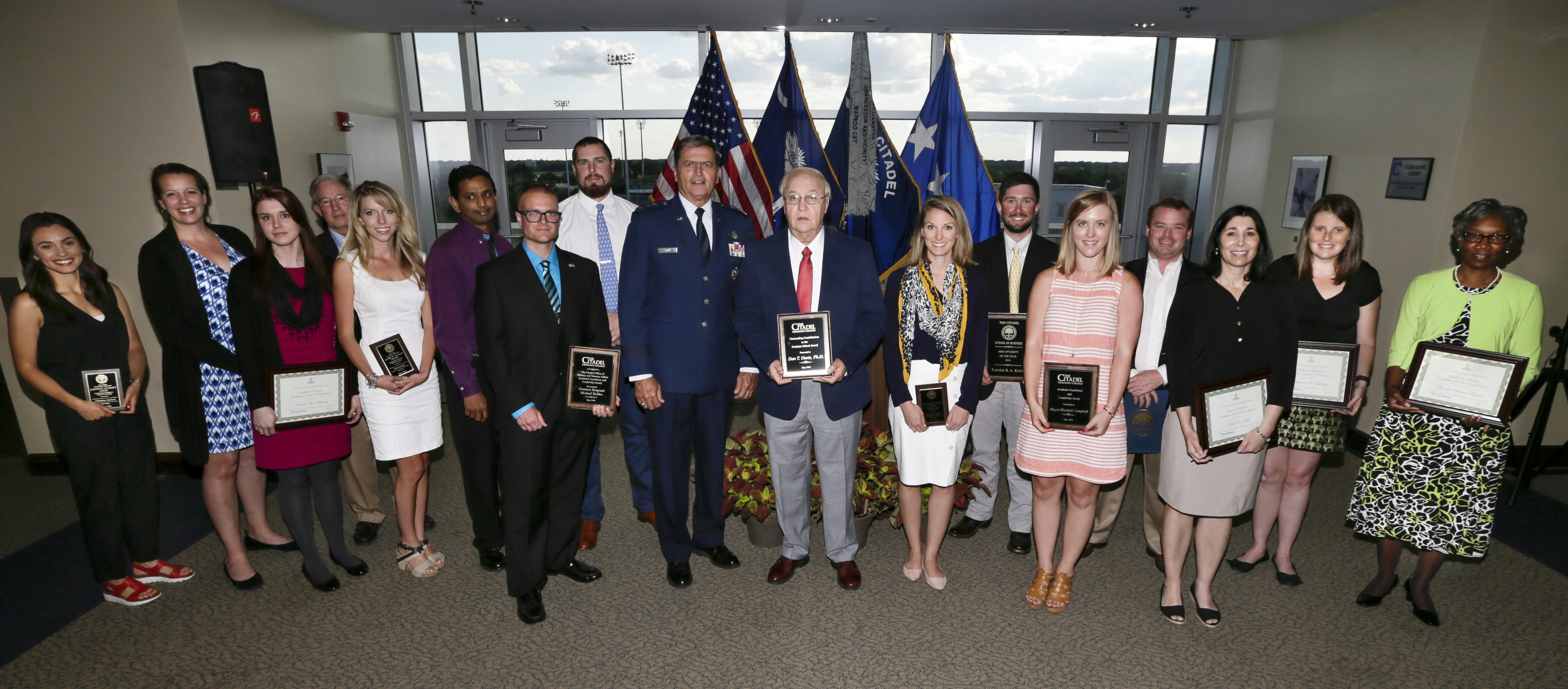 Citadel Graduate College 2016 awards