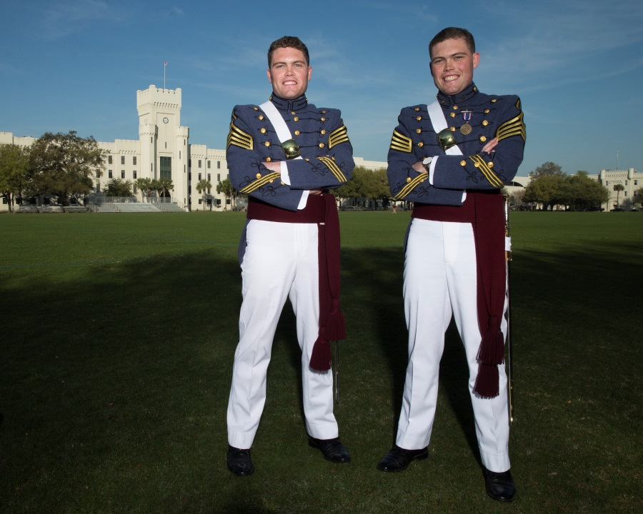 John and Will Hope, The Citadel Class of 2016