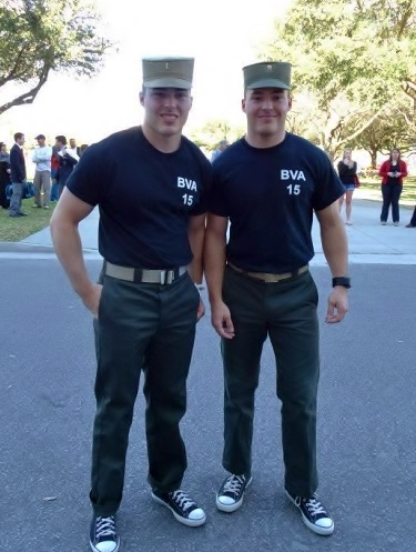 Russo twins, The Citadel Class of 2015