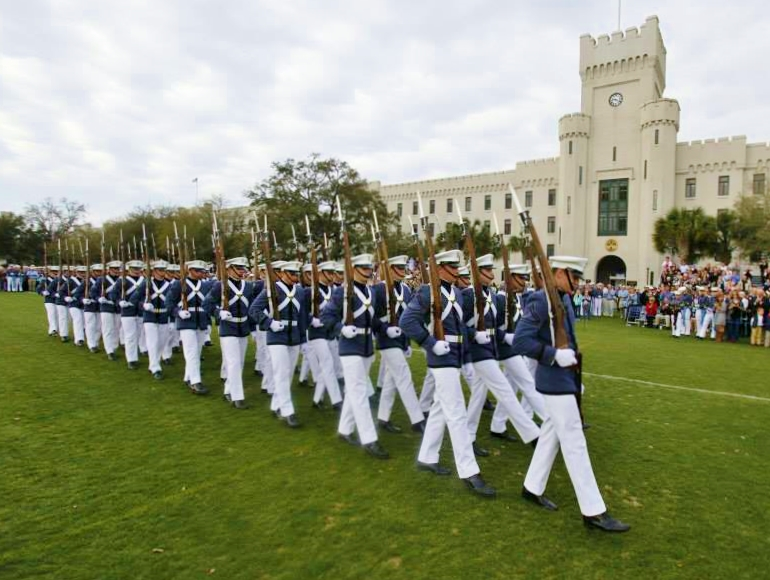 The Citadel's Summerall Guards