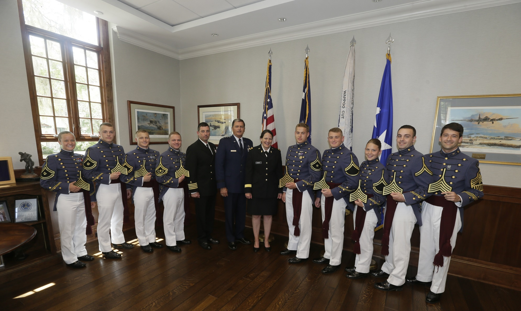 753979c0f The Citadel announces cadet leadership for the Class of 2018 - The ...
