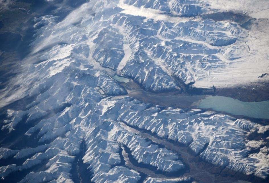 Bresnil glacier from space