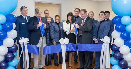 Swain Department of Nursing Ribbon Cutting - Simulation Lab