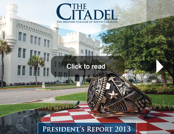 The Citadel Presidents Report 2013
