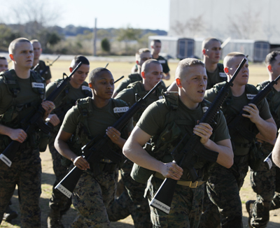 Citadel NROTC earns top honors at Officer Candidates School
