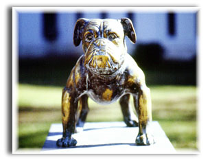 The Bulldog Monument