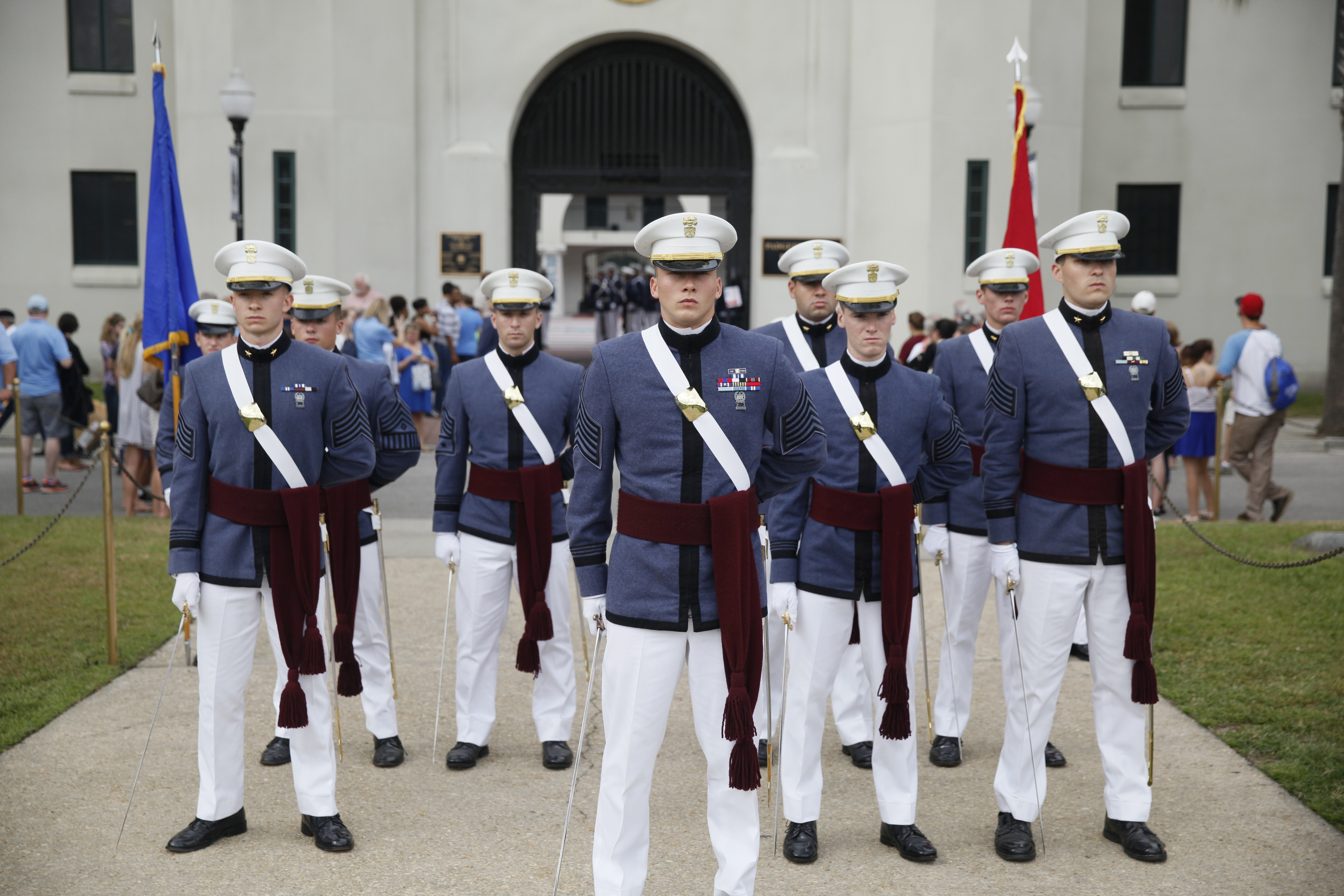 regimental staff