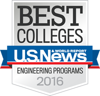 Us News and World Report Engineering School Rankings - The Citadel - 2016