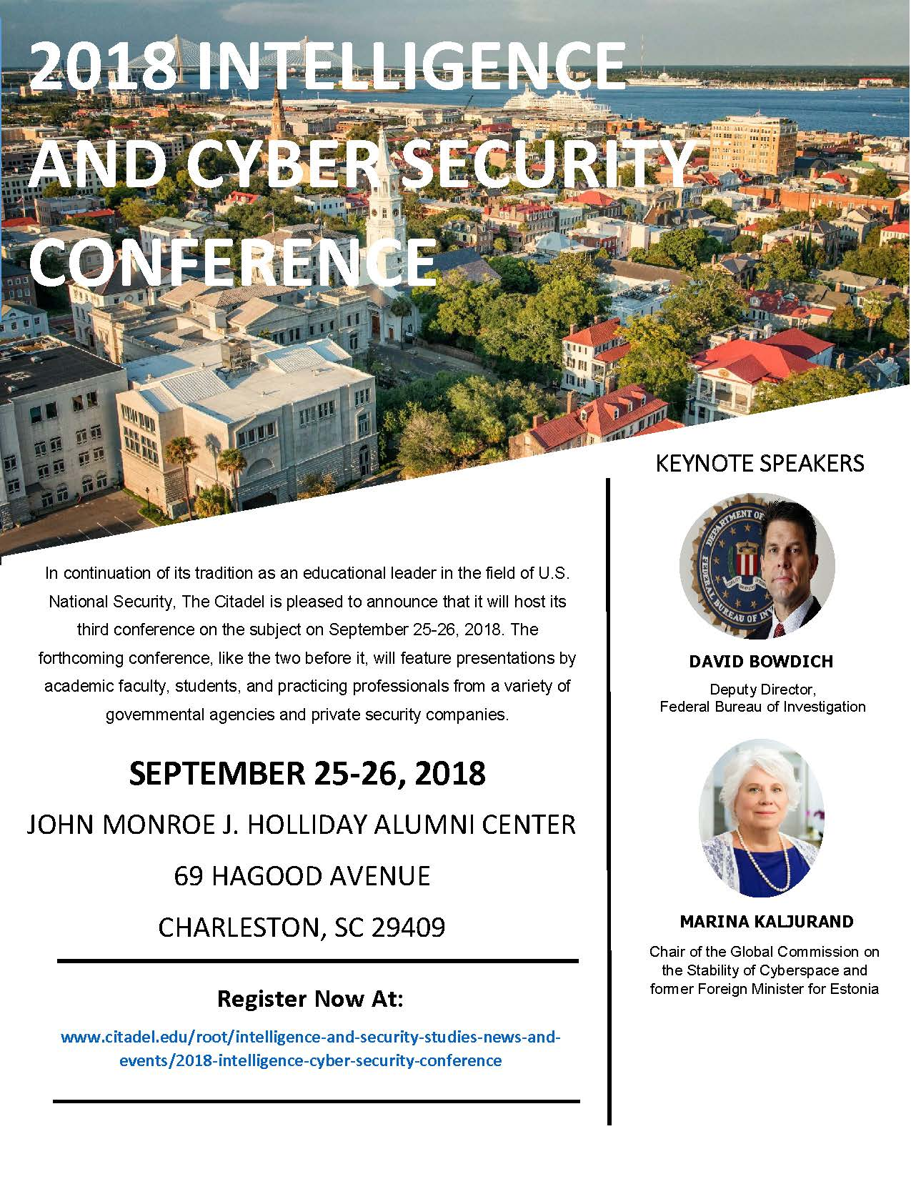 2018 intel conference flyer 1