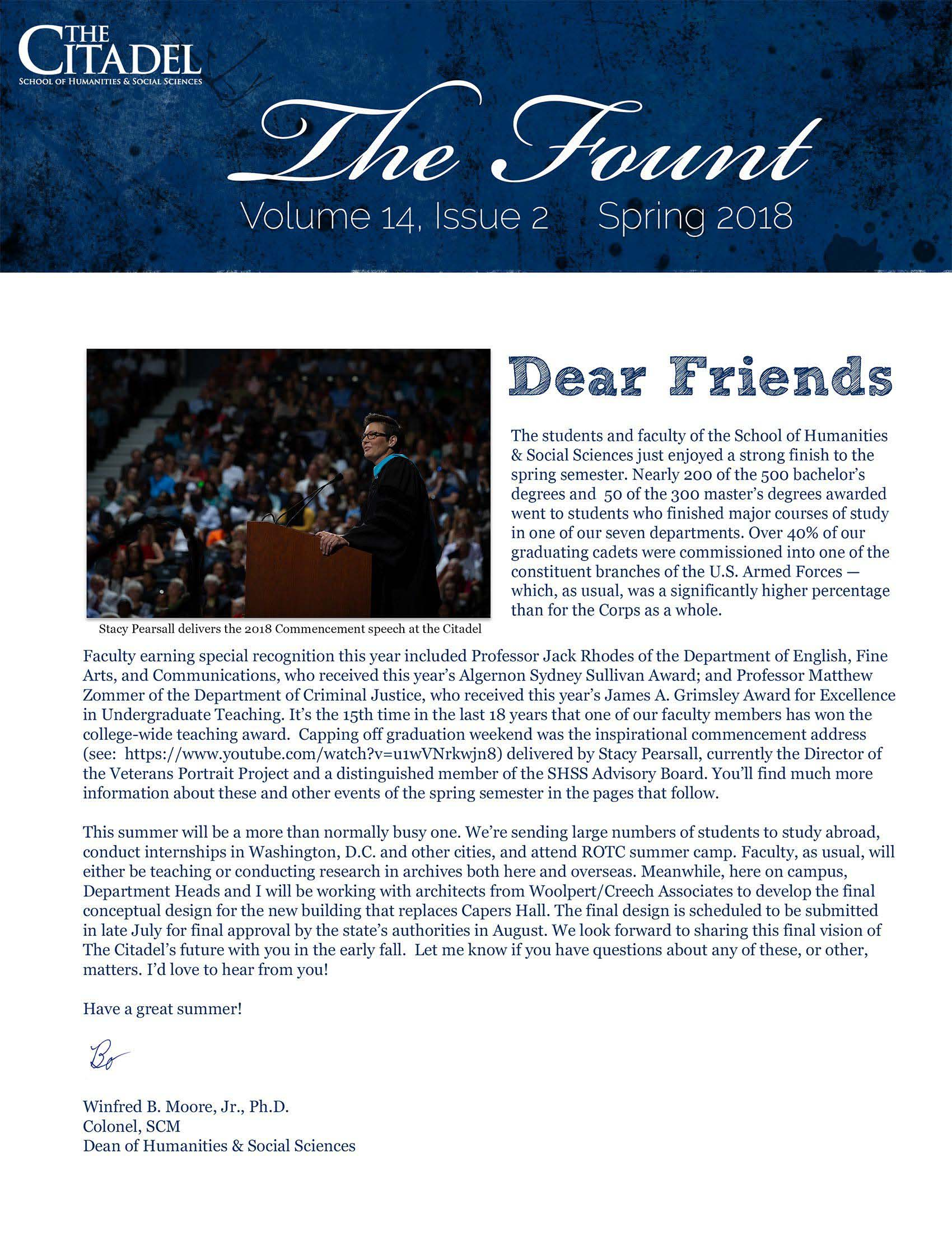 The Fount Volume 14 Issue 2