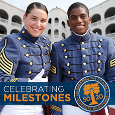 Celebrating Citadel Diversity Milestones in the 50th and 20th years
