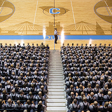 Welcoming The Citadel Class of 2020