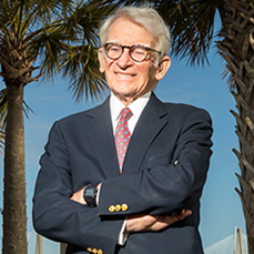 Citadel professor and former Charleston Mayor Joseph P. Riley, Jr. is teaching a new course for the spring semester