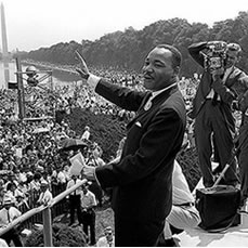 Historic photo of Martin Luther King, Jr.