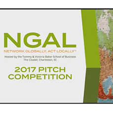 NGAL students and faculty at the pitch competition