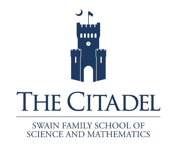 citadel logo stacked blue