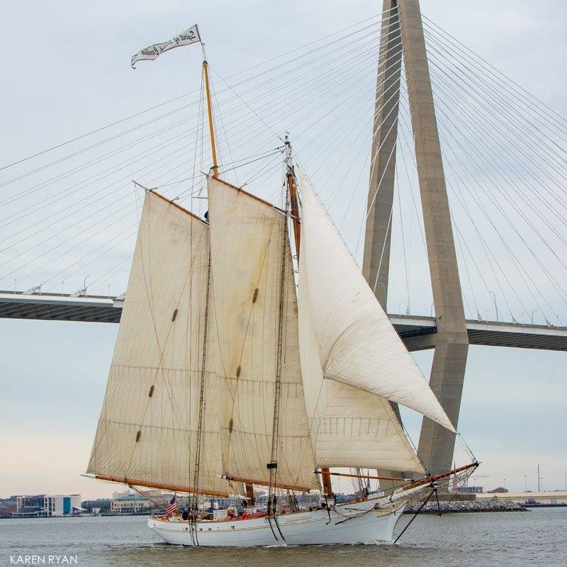 Spirit of South Carolina, a 140-foot, traditional sailing vessel - http://www.citadel.edu/root/studyabroad/sea-program