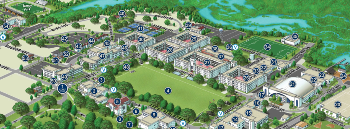 The Citadel Virtual Campus Tour