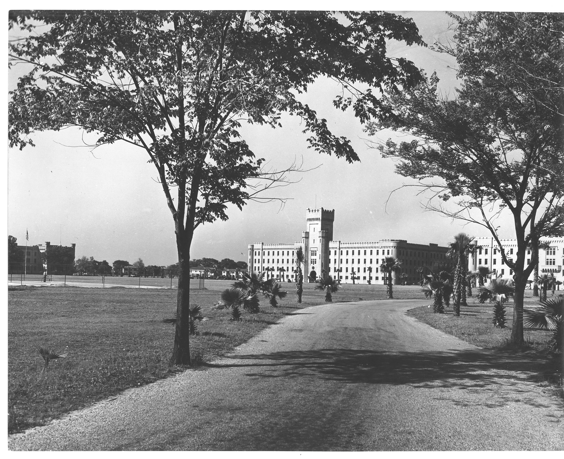 The Citadel's new campus in 1924