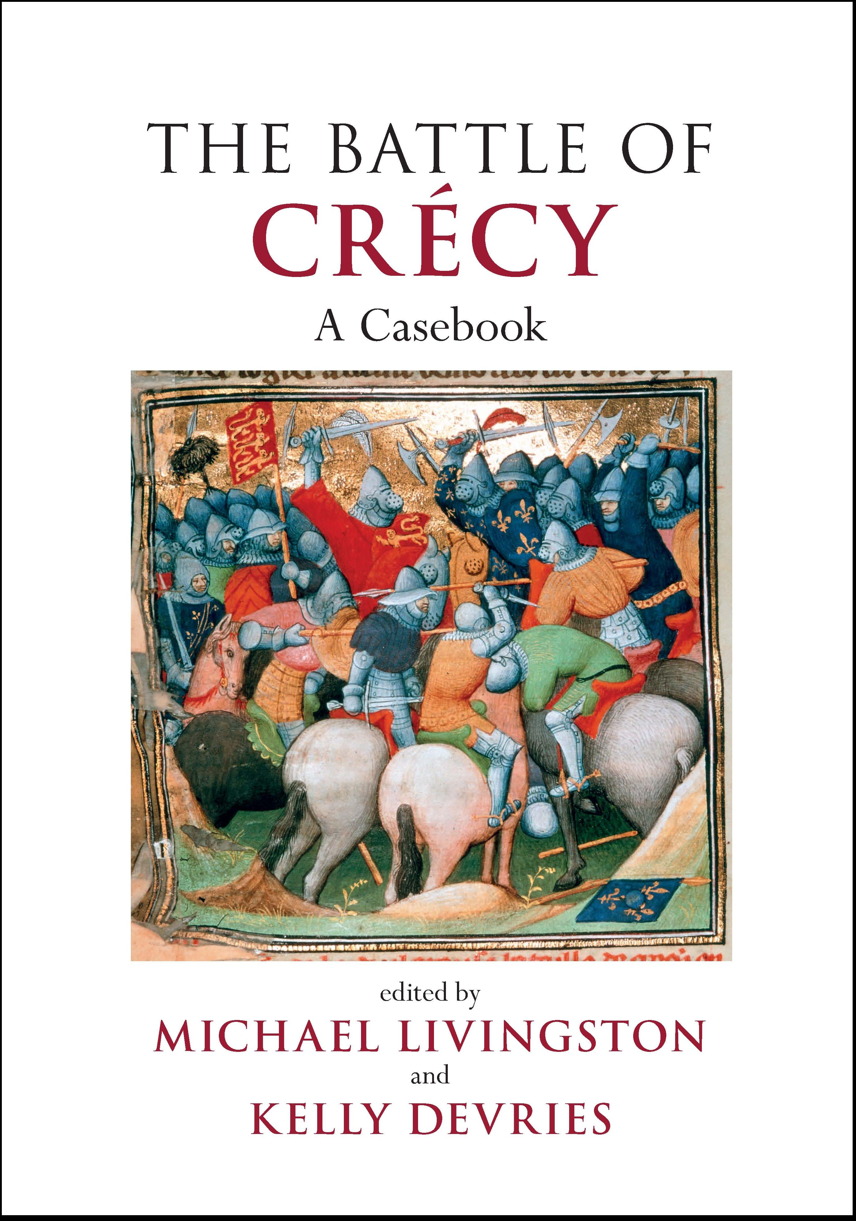 Battle of Crecy book cover