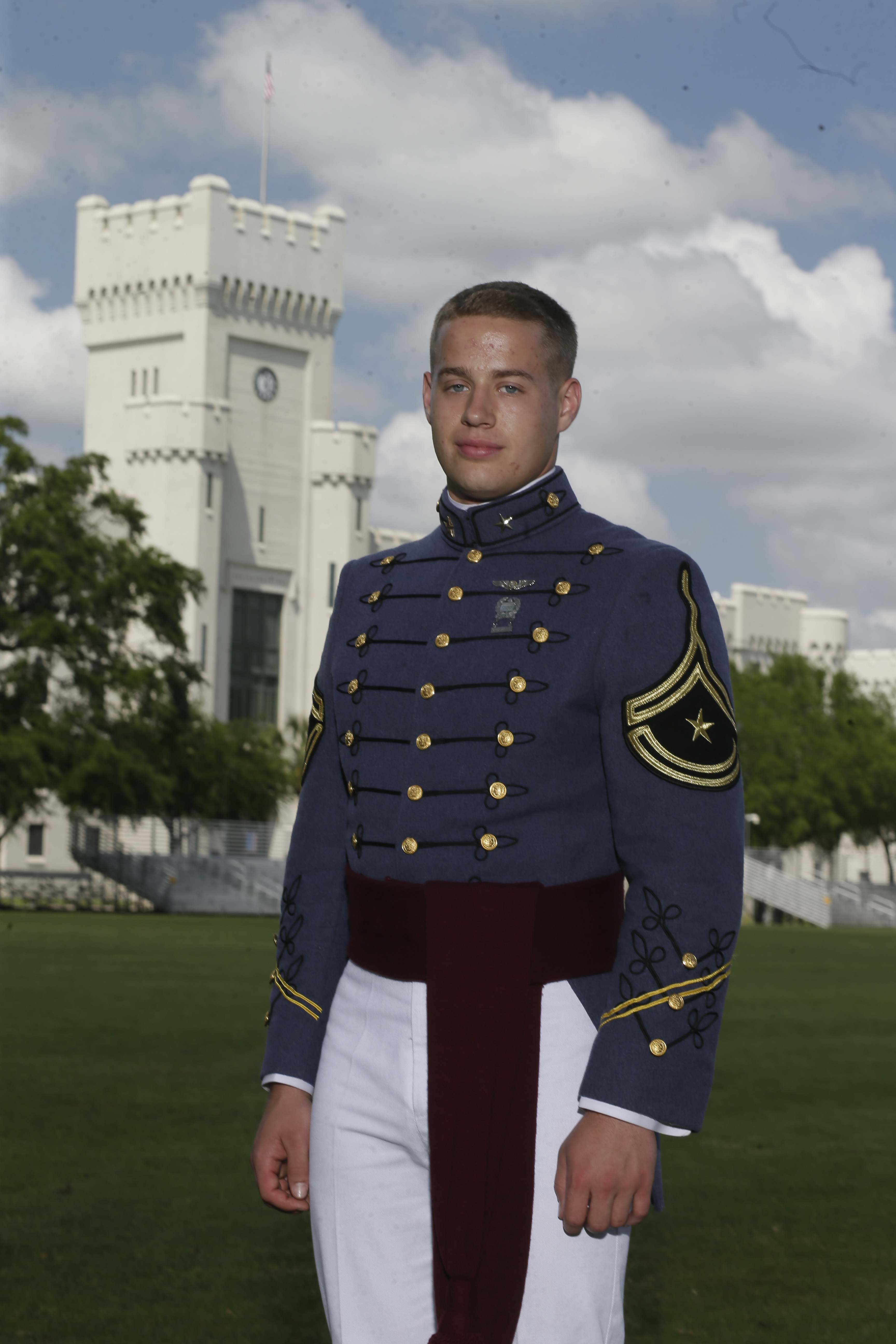 Citadel Regimental Commander Dillon Graham