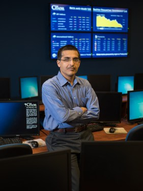 Shankar Banik The Citadel Cybersecurity professor
