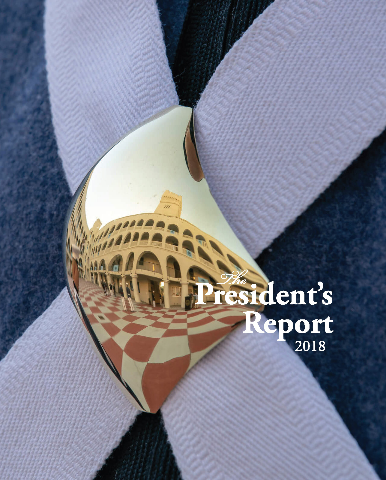 the presidents report 2018 cover