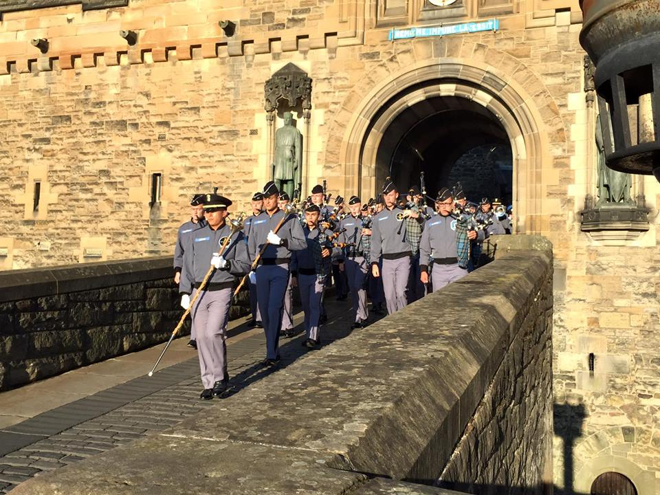Citadel-Band-Marching-Edinburgh-Castle-2015