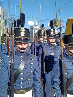 musket-squad-in-downtown-Charleston-SC